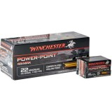 Winchester Power Point Ammunition 22 Magnum 45GN Copper Plated HP (50)