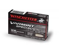 Winchester Varmint Special Ammunition .308 Win 130GN Woodleigh PP (20)