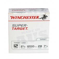 """Winchester Super Target 12 Gauge 1200 7.5 2-3/4"""" 28GM (25)"""