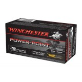Winchester Power Point Ammunition 22LR 40GN HP (50)