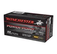 Winchester Power Point Ammunition 22LR 40GN HP (50)