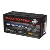 Winchester Subsonic Ammunition .22LR 40GN HP (500)