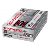 Winchester Super X Ammunition .243 Win 100GN PSP (20)