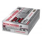 Winchester Super X Ammunition .243 Win 100GN PSP (20)