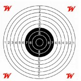 Winchester Paper Air Rifle Target (20)
