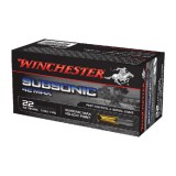 Winchester Subsonic 22WMR 45GN HP (50)