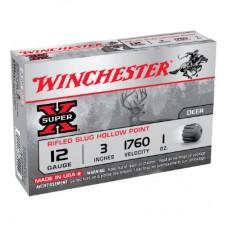 Winchester 12 Gauge 1oz Rifled Slug 1760 fps Ammunition (5)