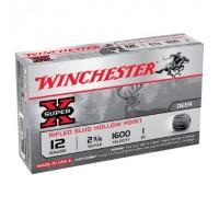 Winchester 12 Gauge 1oz Rifled Slug 1600 fps Ammunition (5)