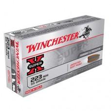 Winchester Super X Ammunition .223 Rem 55GN PSP (20)
