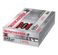 Winchester Super X Ammunition .243 Win 80GN PSP (20)