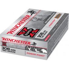 Winchester Super X Ammunition .308 Win 180GN PP (20)
