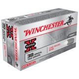 Winchester Super X 38 Special  158GN LRN (50)