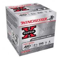 """Winchester 410 2.5"""" High Brass 4 Shot 1245FPS (25)"""